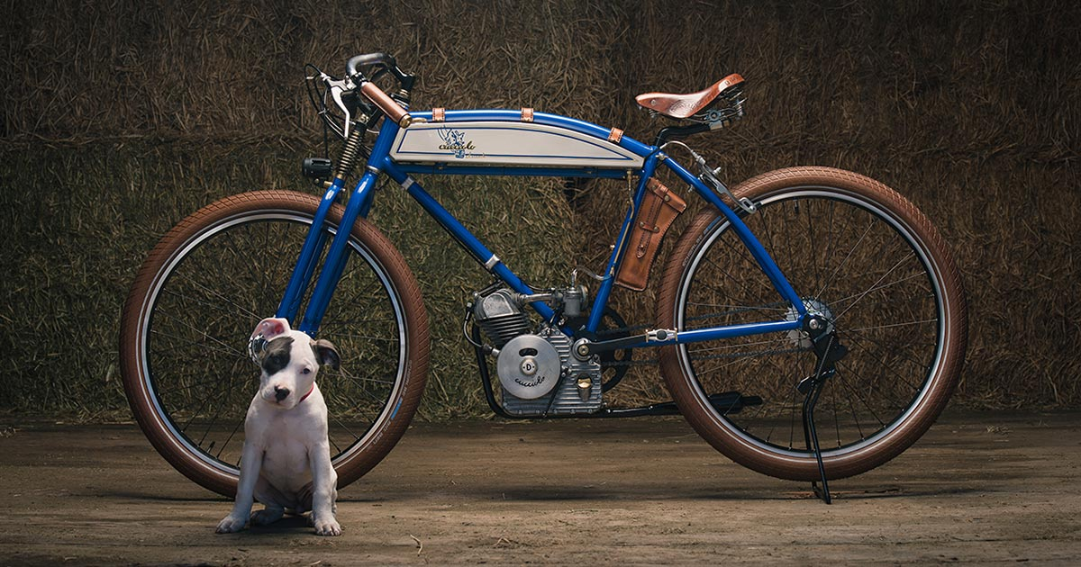 Puppy Love: A Ducati Cucciolo from Analog Motorcycles