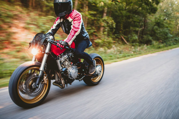 Honda Of Fayetteville >> Rosso Corsa: A Honda Cafe Racer Inspired by a Ferrari ...