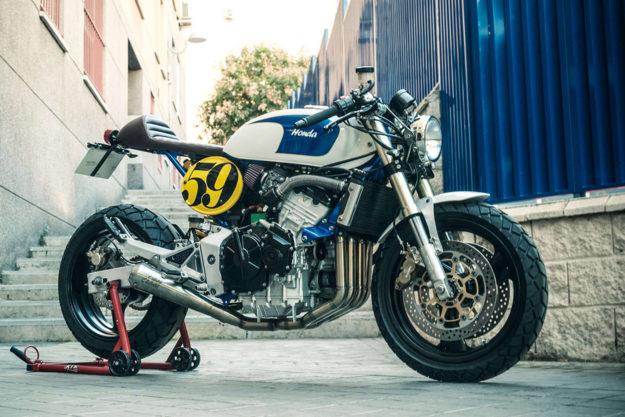 Honda Hornet cafe racer by XTR Pepo