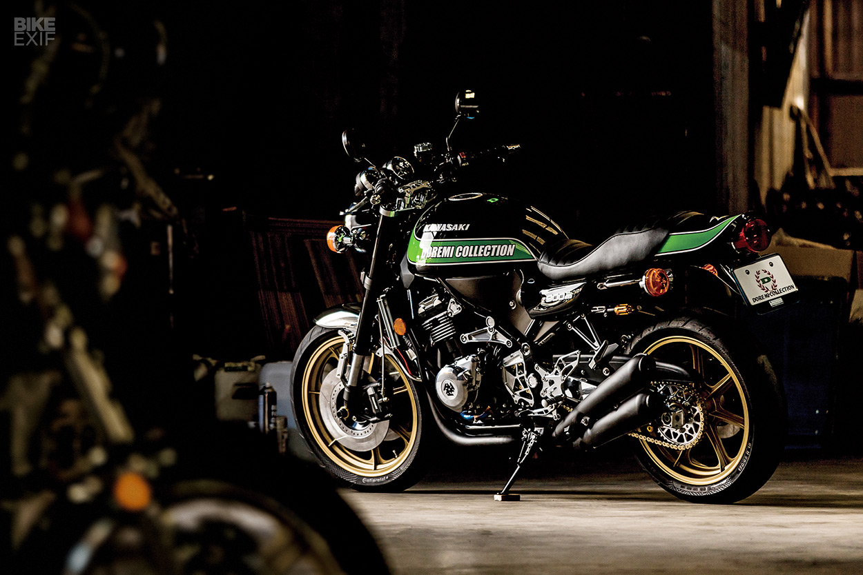 Custom Kawasaki Z900RS By Doremi Collection Full Size