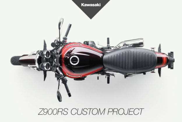 Kawasaki Z900RS custom project