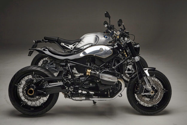 Lowride Magazine Puts The Bmw R Ninet On A Diet Bike Exif