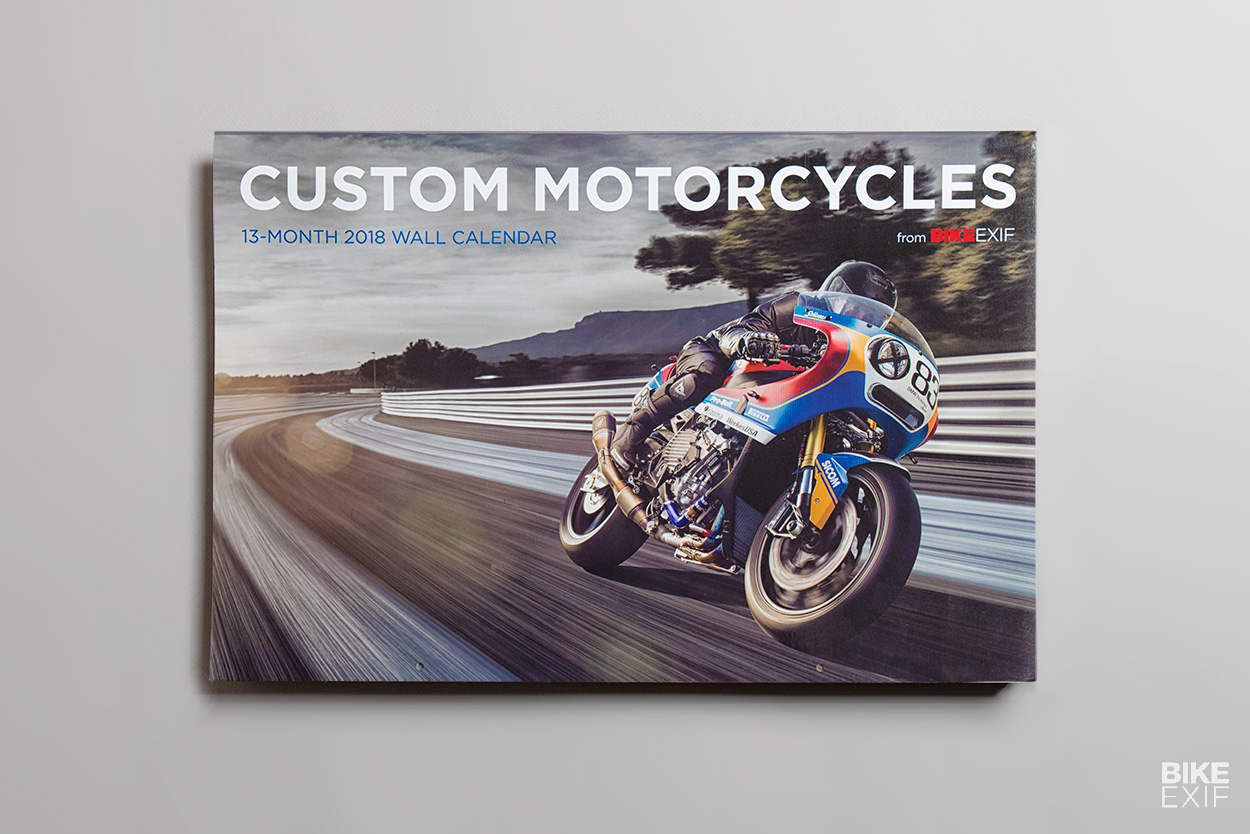 The 2018 edition of the world's most popular motorcycle calendar is now on sale.