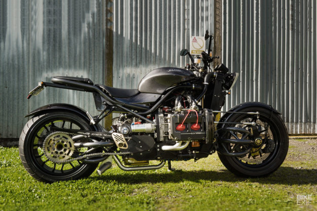 The Madboxer: A motorcycle with a Subaru car engine