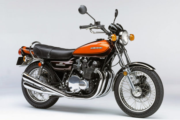 The original Kawasaki Z1, inspiration for the 2018 Z900RS