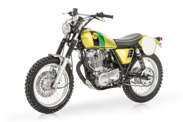 Yamaha SR400 scrambler by Fuel Motorcycles