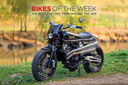 The best cafe racers, scramblers and restomods of the week
