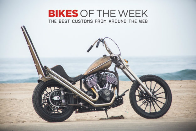 The best cafe racers, scramblers and choppers of the week