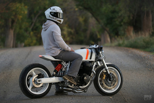 White Hot: A cafe racer Honda CB750 from New York