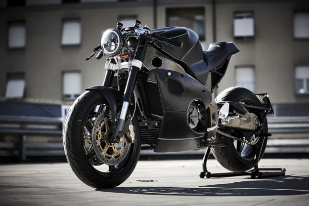 Custom Aprilia Tuono by Ireful Motorcycles