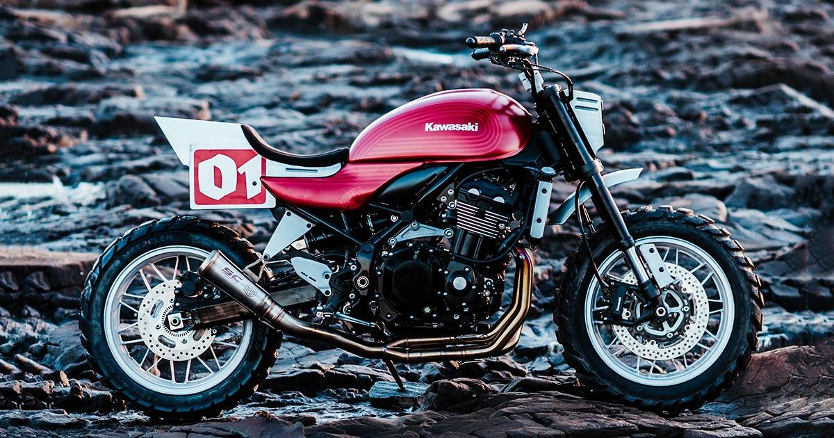 Stone Tracker: Kawasaki lets Deus loose on the Z900RS