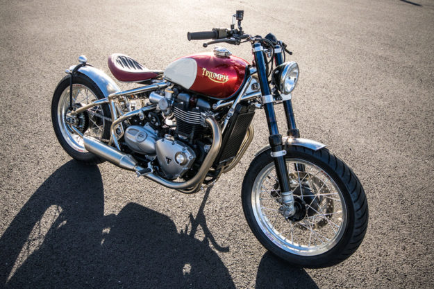Triumph Bobber custom by FCR Original