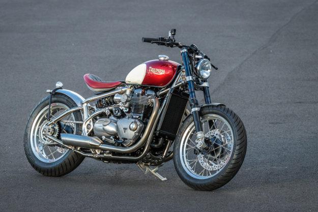 Triumph Bobber custom by FCR Original