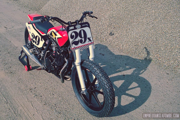 Honda XL 600 RM by Breizh Coast Kustoms