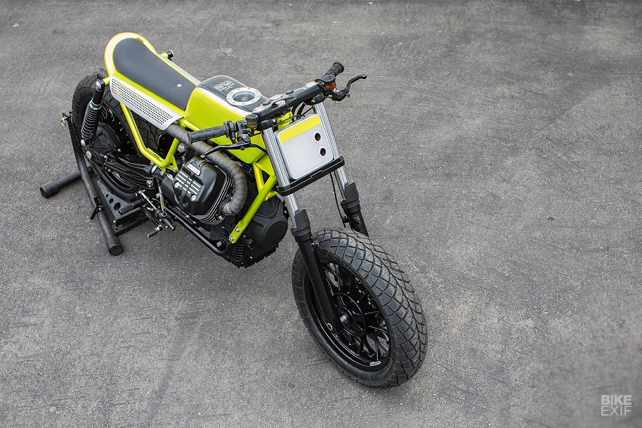 Fat Tracker: Untitled's Stripped-Down Moto Guzzi V9   Bike EXIF