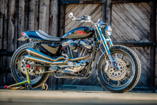 Harley-Davidson Sportster tracker by Mule Motorcycles
