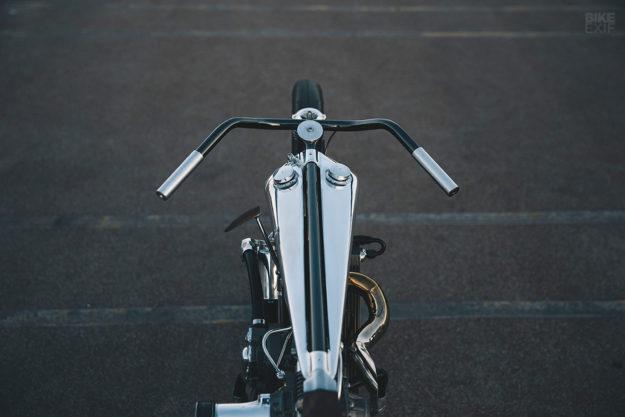 Supercharged KTM custom motorcycle by Hazan Motorworks