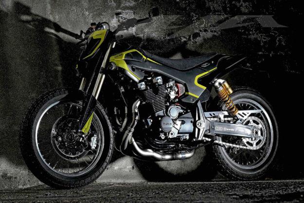 Yamaha XJ1300 VR46 flat tracker by Rodolpho Frascoli