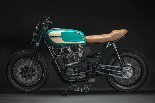Yamaha XS650 Tracker by Tyson Carver