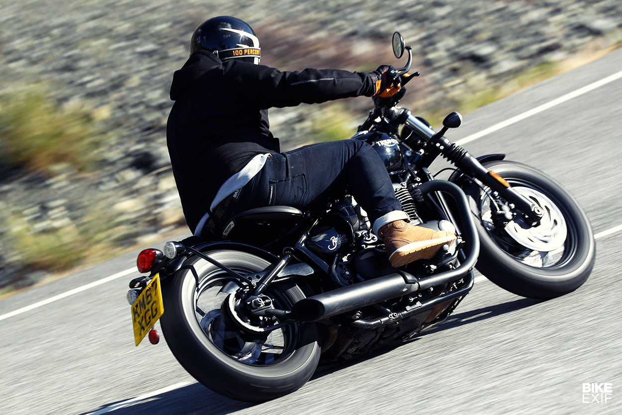 Review The 2018 Triumph Bonneville Bobber Black Bike Exif