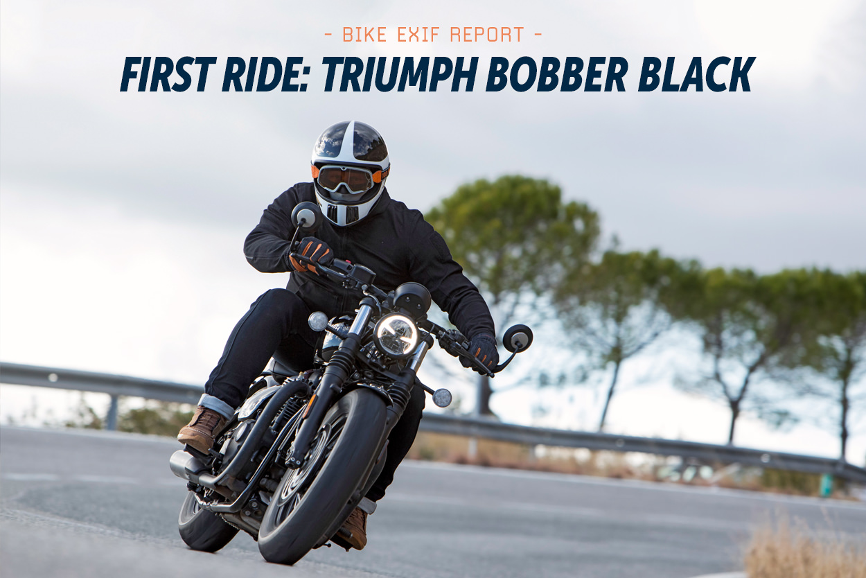 Review: The 2018 Triumph Bonneville Bobber Black