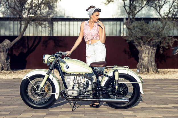 Custom BMW R68 by Kacerwagen