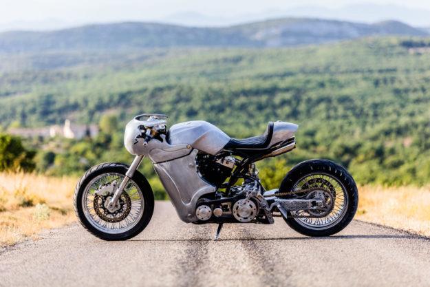 Custom Harley-Davidson Softail Springer by EMD Workers