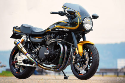 Custom Kawasaki Z1 by AC Sanctuary
