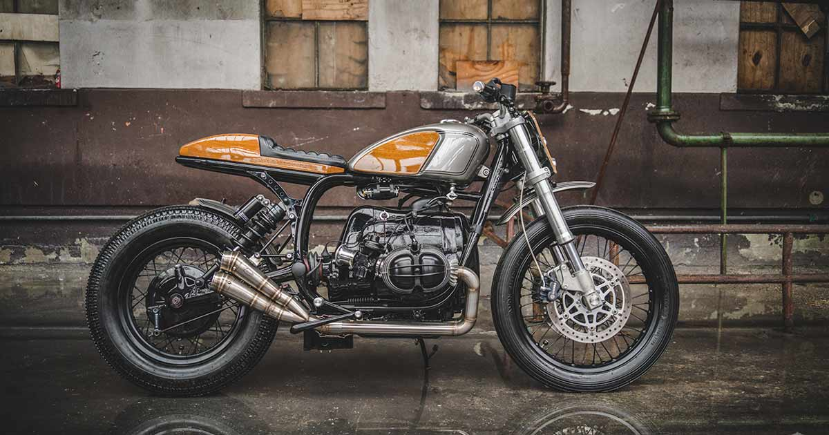 Ironwood's new BMW Boxer goes with the grain