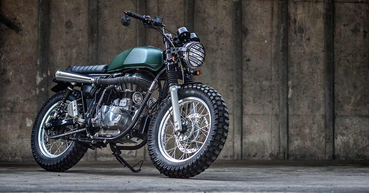 K-Speed scrambles the Royal Enfield Continental GT