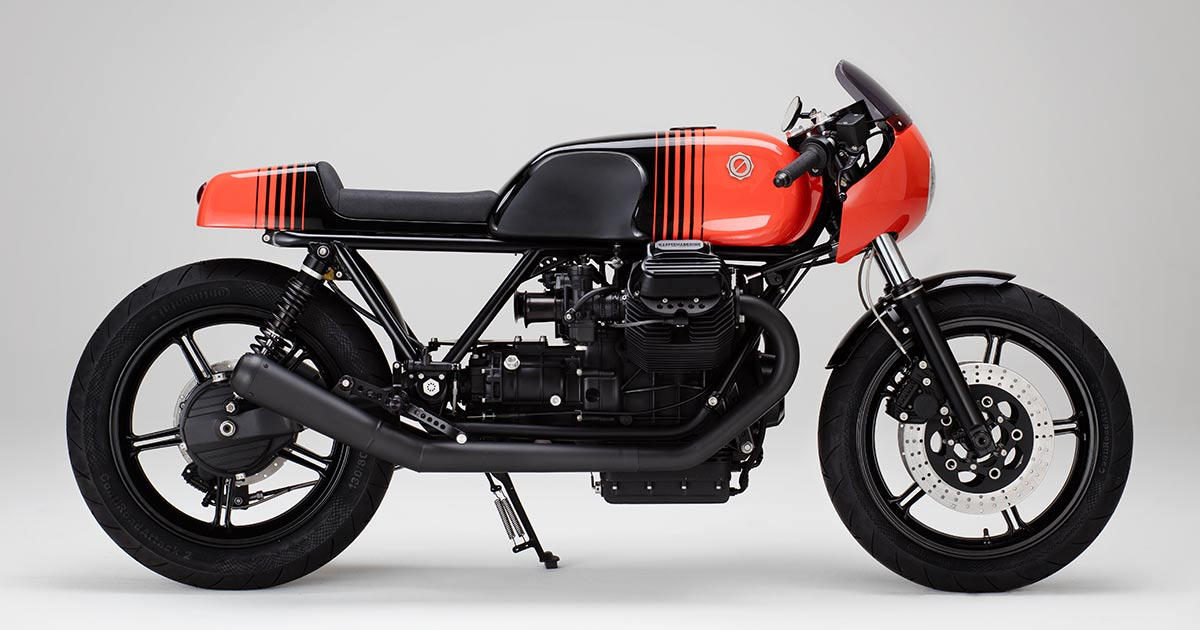 KM22: Every great custom Guzzi, distilled into one