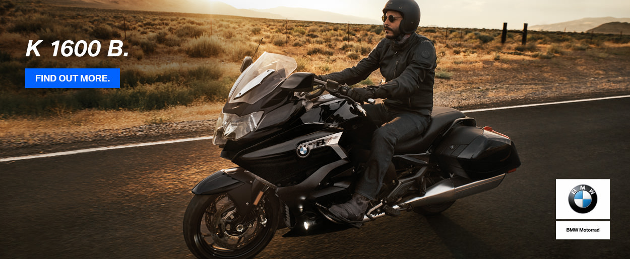 The new 2018 BMW K 1600 B