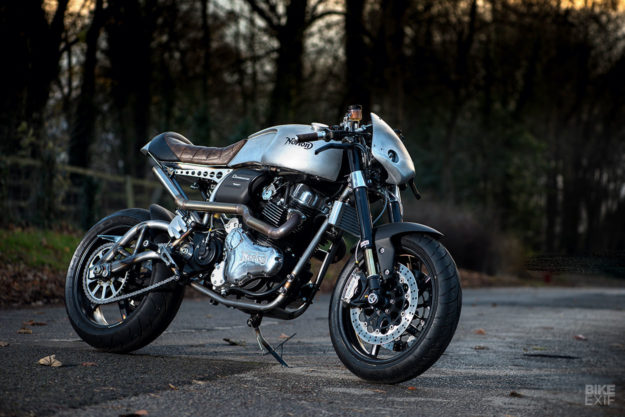 Norton Dominator Naked by Partridge Design, for Goblin Works Garage