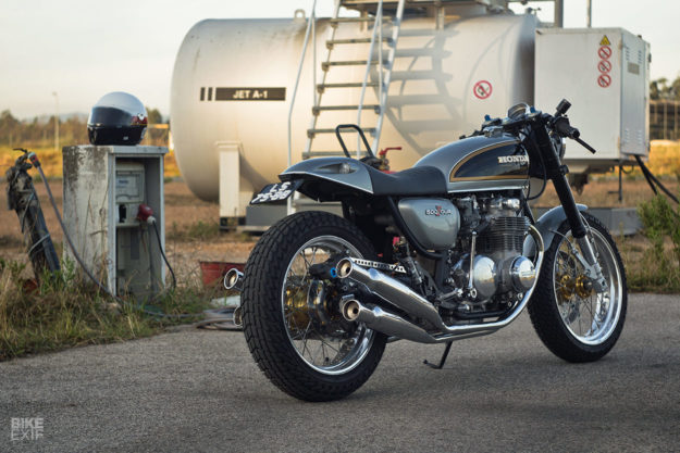 Tribute to an Icon: Ton-up Garage's Honda CB500 Four restomod