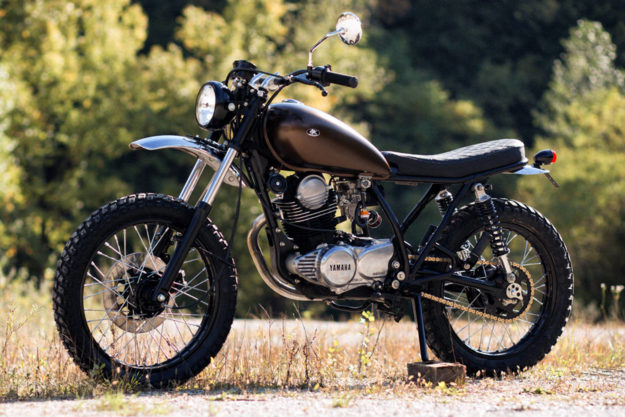 Yamaha SR250 by Retro Bikes Croatia