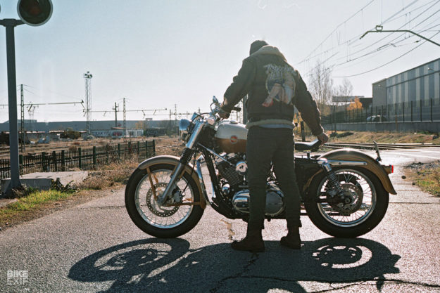 1957 Harley Sportster replica by UFO Garage