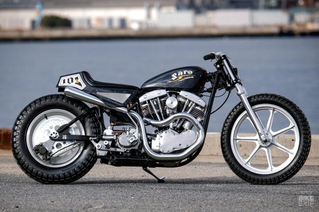 1968 Harley-Davidson Shovelhead by Sato Marine Cycle