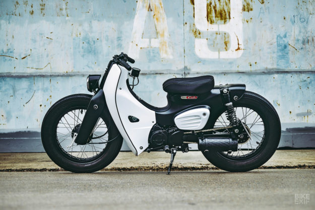 Used Honda Ruckus >> Honda launches the 2018 Super Cub with a K-Speed custom | Bike EXIF
