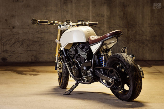 Custom Harley-Davidson Street 750 by Number 8 Wire Motorcycles