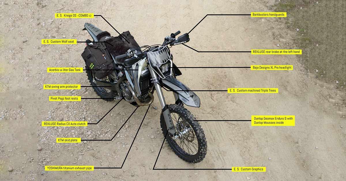 WTF: El Solitario just built two super-practical dirt bikes