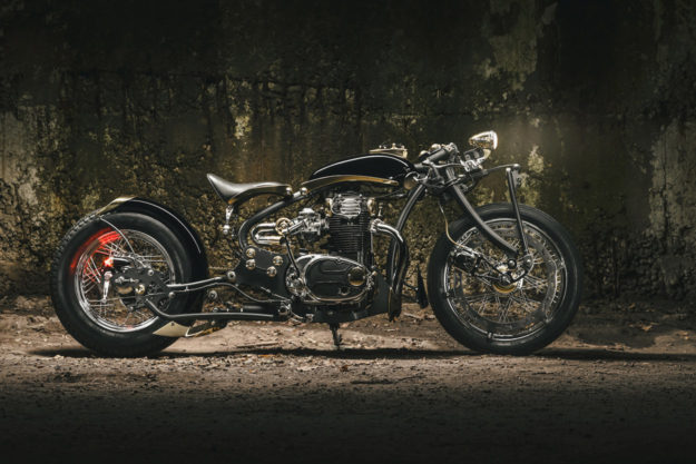 Yamaha XS650 by Galaxy Custom