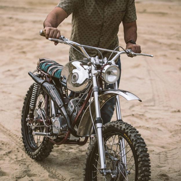 Custom Hodaka Ace motorcycle