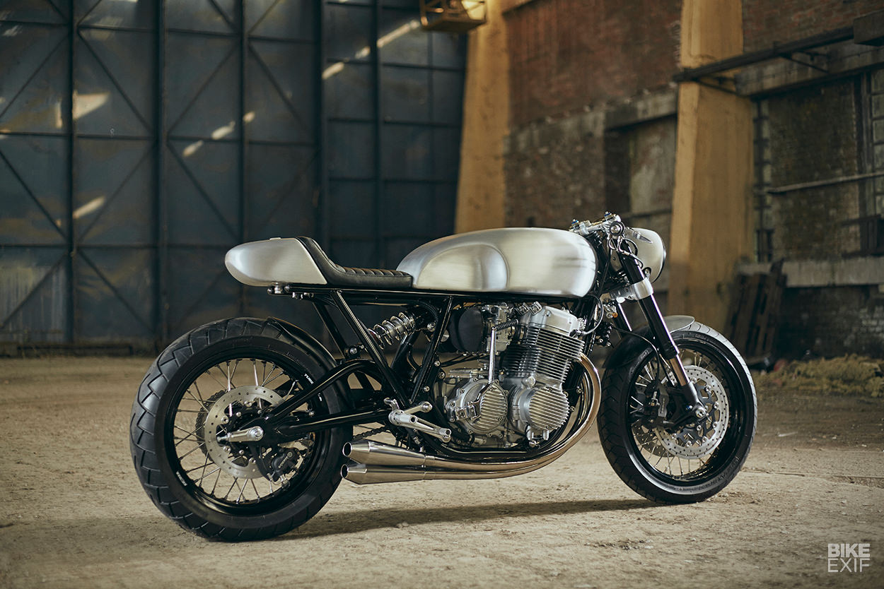 Honda Cb750 Cafe Racer >> This Cb750 Took Three Years To Build And It S Perfect Bike Exif