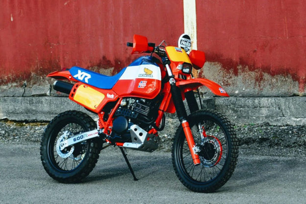 Honda XL600R by Andrew Greenland