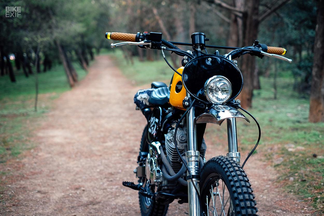 Spicy Urban Mechanics Mustard Yellow Honda Xr 250 Bike Exif Dirt Bikes Gas Tank Full Size