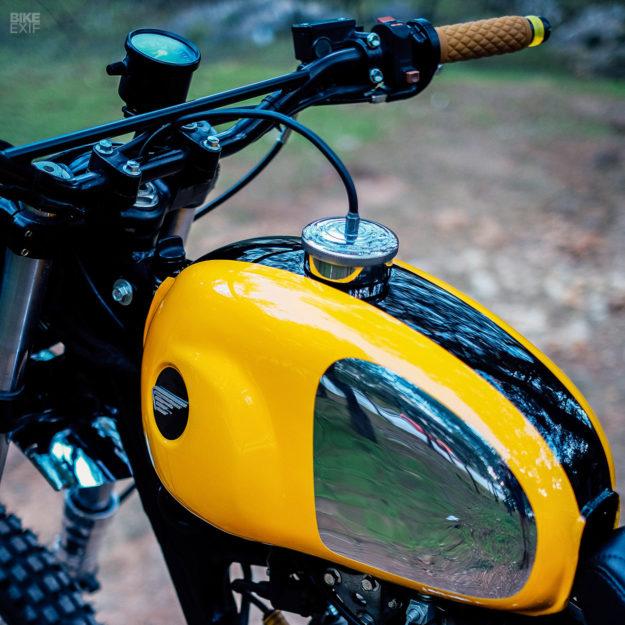 Honda XR 250 scrambler by Urban Mechanics