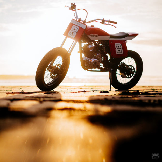 Kawasaki KLX 150 beach tracker by Deus Bali