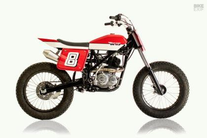 Kawasaki KLX 150 'beach tracker' by Deus Bali