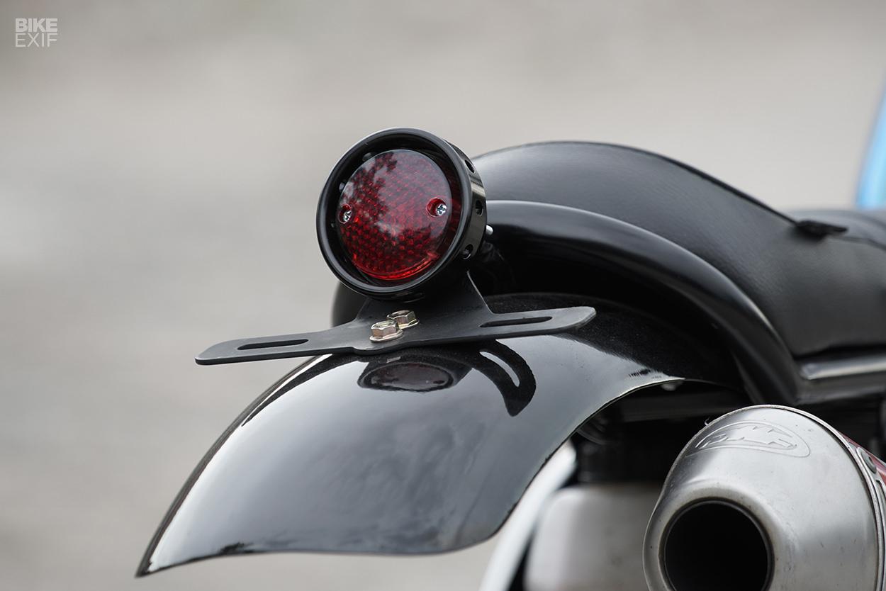 Knuckle WhackJob Gives The KLX250 A Vintage Enduro Vibe | Bike EXIF