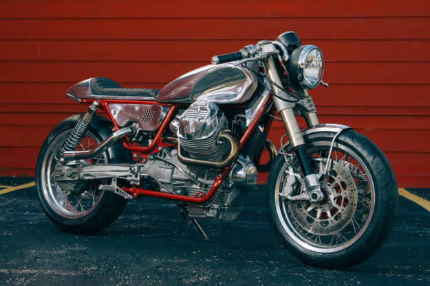 Turbocharged Moto Guzzi V9 by Craig Rodsmith